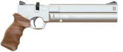 AP16 REGULATED PISTOL BLACK-STANDARD-SILVER 4.5