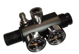 80-200 Bar Externally Adjustable  Regulator (fits all Std Buddy Bottle)