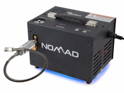 NOMAD 2 Portable 220VAC and 12VDC 300 BAR Gun cylinder Compressor