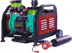 OC 50  FULL ELECTRONIC CONTROL 300BAR(4500PSI) OIL-LESS HIGH PRESSURE AIR COMPRESSOR